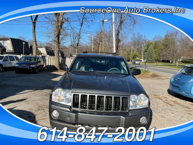 2007 Jeep Grand Cherokee Laredo 4WD 5-Speed Automatic